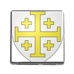The Arms of the Kingdom of Jerusalem  Memory Card Reader (Square)