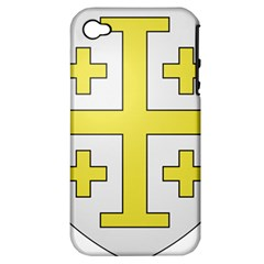 The Arms of the Kingdom of Jerusalem  Apple iPhone 4/4S Hardshell Case (PC+Silicone)