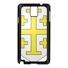 The Arms of the Kingdom of Jerusalem  Samsung Galaxy Note 3 N9005 Case (Black)
