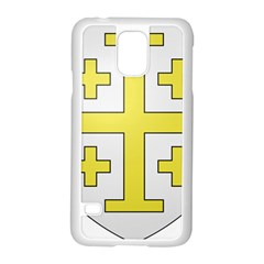 The Arms of the Kingdom of Jerusalem  Samsung Galaxy S5 Case (White)