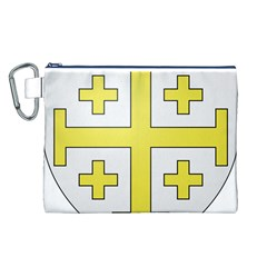 The Arms of the Kingdom of Jerusalem  Canvas Cosmetic Bag (L)
