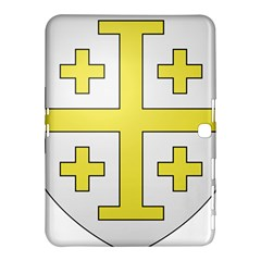 The Arms of the Kingdom of Jerusalem  Samsung Galaxy Tab 4 (10.1 ) Hardshell Case