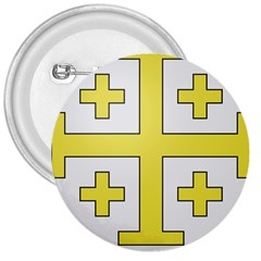 The Arms of the Kingdom of Jerusalem 3  Buttons