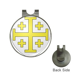 The Arms Of The Kingdom Of Jerusalem Hat Clips With Golf Markers