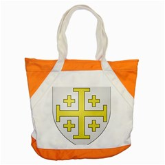 The Arms of the Kingdom of Jerusalem Accent Tote Bag