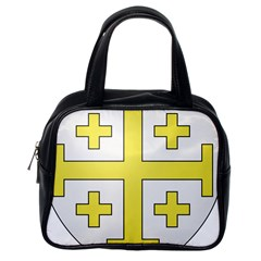 The Arms of the Kingdom of Jerusalem Classic Handbags (One Side)