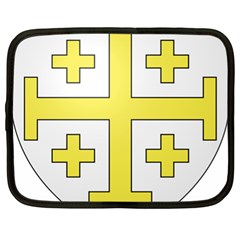 The Arms of the Kingdom of Jerusalem Netbook Case (XL)