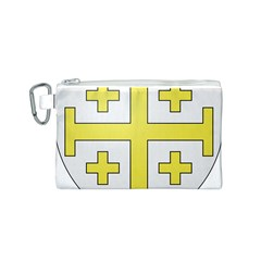 The Arms of the Kingdom of Jerusalem Canvas Cosmetic Bag (S)