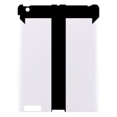 Anchored Cross Apple iPad 3/4 Hardshell Case