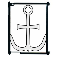 Anchored Cross  Apple iPad 2 Case (Black)