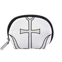 Anchored Cross  Accessory Pouches (Small)