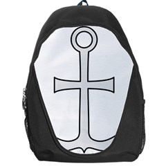 Anchored Cross Backpack Bag