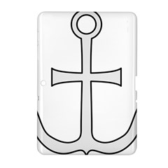 Anchored Cross Samsung Galaxy Tab 2 (10.1 ) P5100 Hardshell Case
