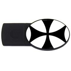 Bolnisi Cross USB Flash Drive Oval (2 GB)