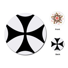 Bolnisi Cross Playing Cards (Round)