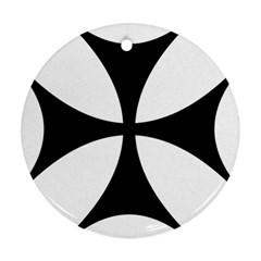 Bolnisi Cross Round Ornament (Two Sides)