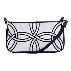 Carolingian cross Shoulder Clutch Bags