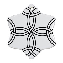 Carolingian cross Ornament (Snowflake)