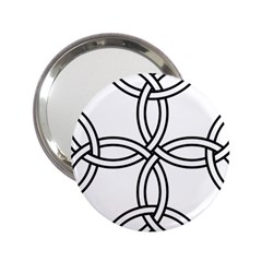 Carolingian Cross 2.25  Handbag Mirrors