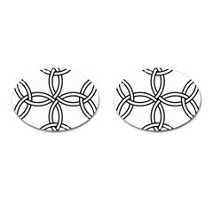 Carolingian Cross Cufflinks (Oval)