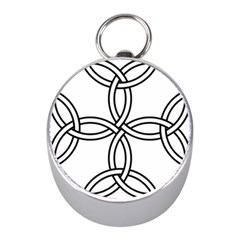 Carolingian Cross Mini Silver Compasses