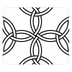 Carolingian Cross Double Sided Flano Blanket (Small)