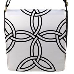 Carolingian Cross Flap Messenger Bag (S)