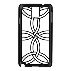 Carolingian Cross Samsung Galaxy Note 3 N9005 Case (Black)