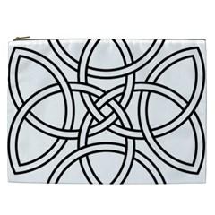 Carolingian Cross Cosmetic Bag (XXL)