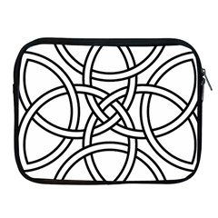 Carolingian Cross Apple iPad 2/3/4 Zipper Cases