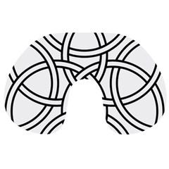 Carolingian Cross Travel Neck Pillows