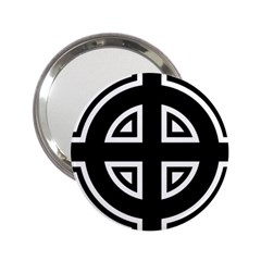 Celtic Cross 2.25  Handbag Mirrors