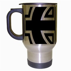 Celtic Cross Travel Mug (Silver Gray)