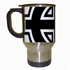 Celtic Cross Travel Mugs (White)