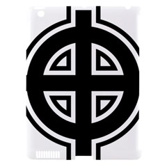 Celtic Cross Apple iPad 3/4 Hardshell Case (Compatible with Smart Cover)