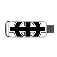 Celtic Cross Portable USB Flash (One Side)