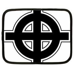 Celtic Cross Netbook Case (xl)
