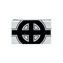 Celtic Cross Cosmetic Bag (Small)