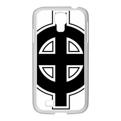 Celtic Cross Samsung GALAXY S4 I9500/ I9505 Case (White)