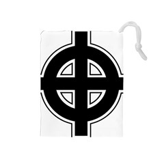 Celtic Cross Drawstring Pouches (Medium)