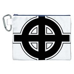 Celtic Cross Canvas Cosmetic Bag (XXL)