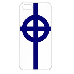 Celtic Cross  Apple Iphone 5 Seamless Case (white)