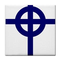 Celtic Cross  Face Towel