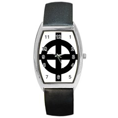 Celtic Cross Barrel Style Metal Watch
