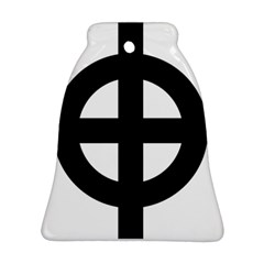 Celtic Cross Bell Ornament (Two Sides)