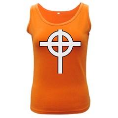 Celtic Cross  Women s Dark Tank Top
