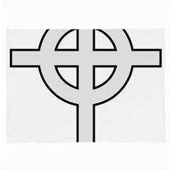 Celtic Cross  Large Glasses Cloth