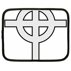 Celtic Cross  Netbook Case (XL)