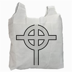 Celtic Cross  Recycle Bag (Two Side)