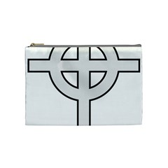 Celtic Cross  Cosmetic Bag (Medium)